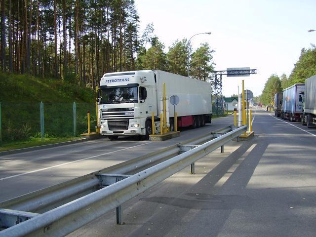 Į Lietuvą pasieniečiai neįleido radioaktyvaus krovinio