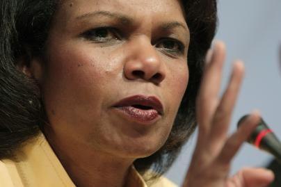 C.Rice didžiuojasi įsiveržimu į Iraką