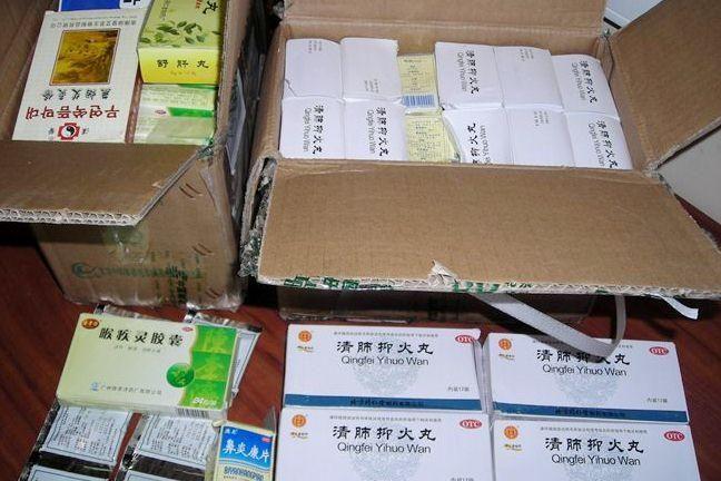 Muitininkai sulaikė beveik 5 kg neaiškios paskirties vaistų