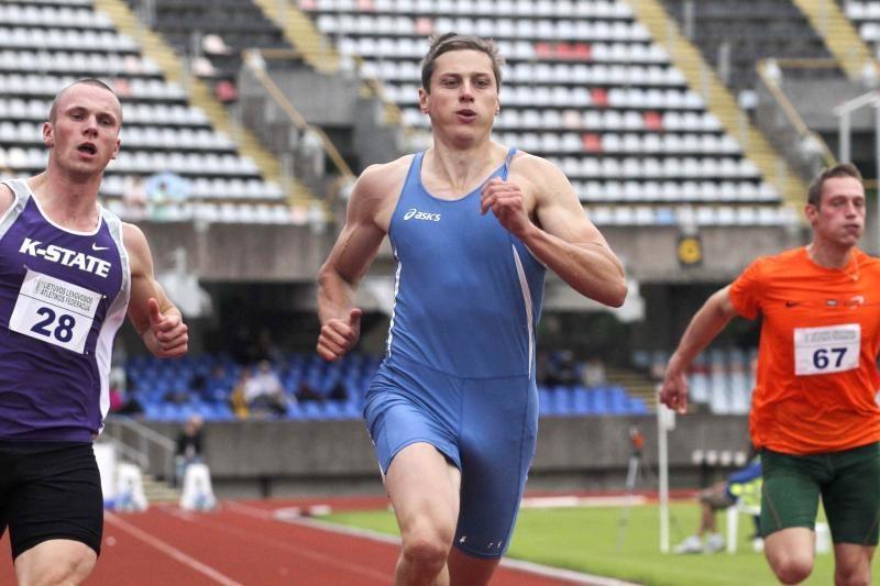 Lietuvos sprinteriai Rygoje buvo tarp lyderių