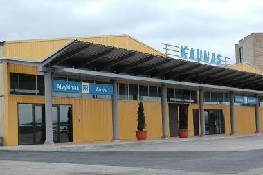 Kauno oro uoste - keleivių rekordas