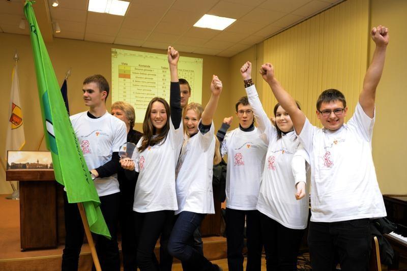 Klaipėdos universitete - aštriausių protų kovos