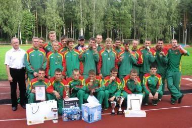 Lietuvos ugniagesybos rinktinė dalyvaus pasaulio čempionate