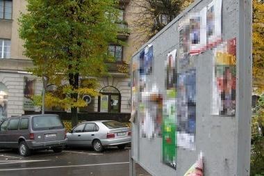 Sostinėje - galimi rinkimų reklamos pažeidimai