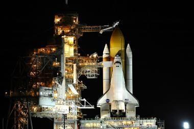 NASA atidėjo erdvėlaivio
