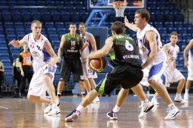 Vilniaus krepšininkai išmėgino jėgas su Estijos klubais