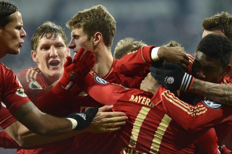 """Vokietijos taurėje - """"Bayern"""" triumfas ir """"Fortuna"""" fiasko"""