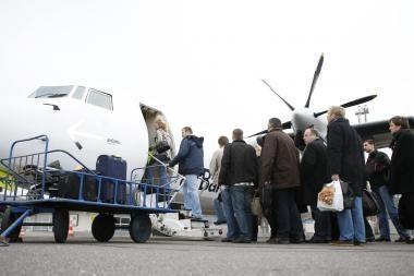 Palangos oro uoste keleivių pernai padaugėjo 3 proc.