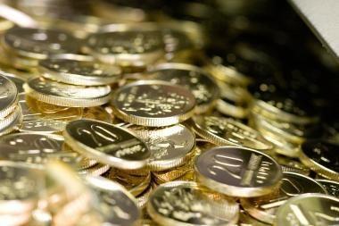 Įmonių išlaidos darbo užmokesčiui auga nuo 2010 metų ketvirto ketvirčio