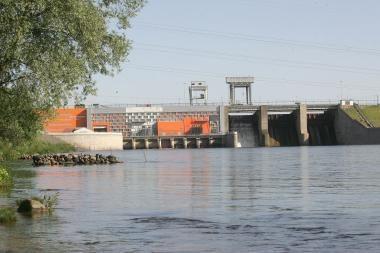 Baigiamas hidroelektrinės modernizavimo pirmasis etapas