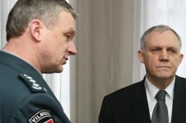 Niekas nenori vadovauti Vilniaus policijai (atnaujinta)