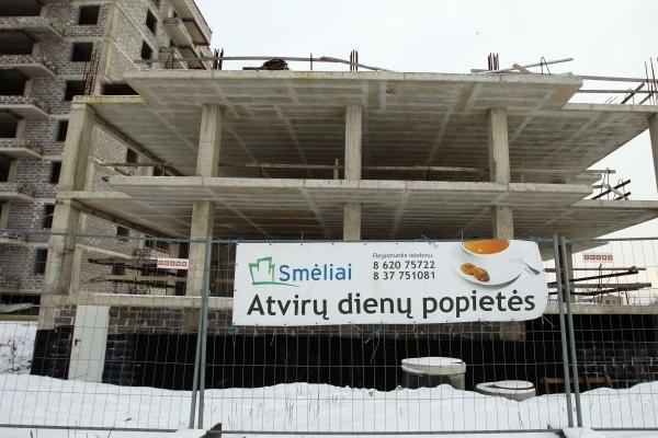 Statybų sektorius šiemet turėtų stabilizuotis