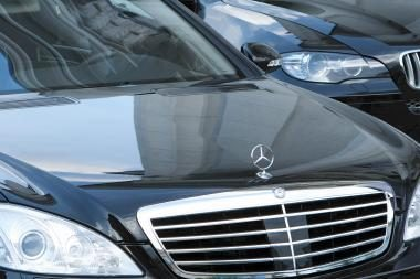 "Vilniuje pavogtas prabangus ""Mercedes"""