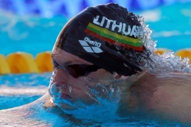 Europos plaukimo čempionate lietuviams nepavyko įveikti atrankos barjero