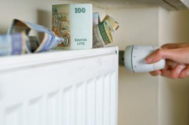 Kas šeštai šeimai gresia skolos už šildymą