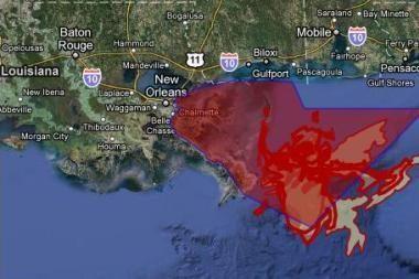 Meksikos įlankoje iš pažeisto BP gręžinio išsiliejo 4,9 mln. barelių naftos