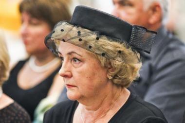 K.Brazauskienė: man šokas, kad Algirdo testamentą užsakė žentas