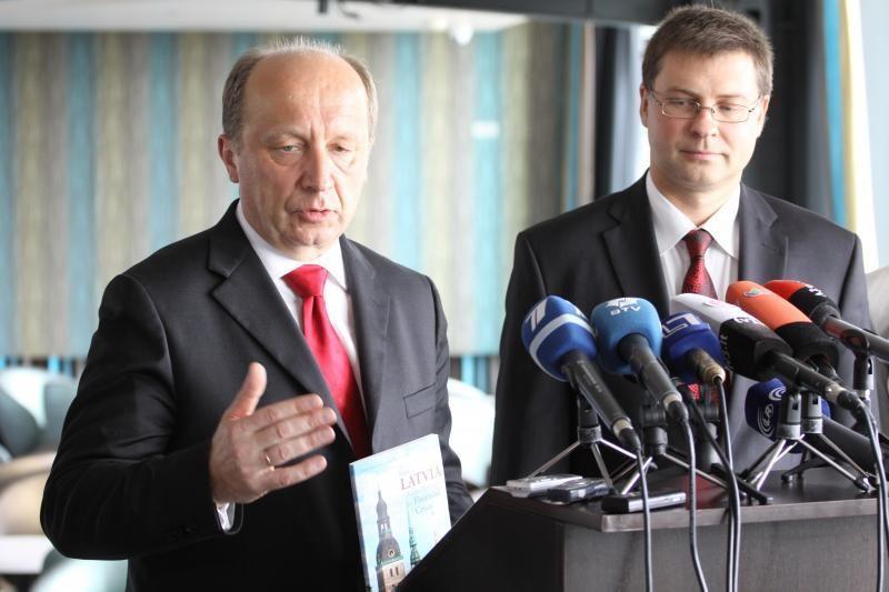 Lietuva nekonkuruos su Latvija dėl lėšų dujų terminalui