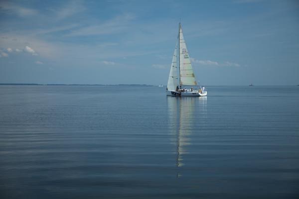 """""""Kuršių marių"""" regatos jachta įplaukė į Rusijos teritoriją"""
