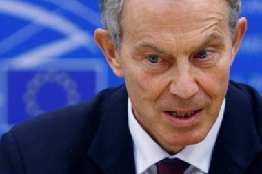 T.Blairas: nenumačiau