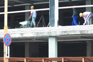 Sustojo socialinio būsto statyba
