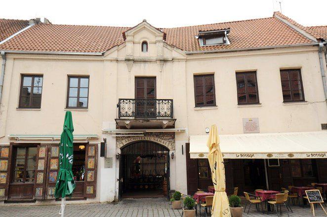 Architektų namų salė grįžta į kultūrinį miesto gyvenimą