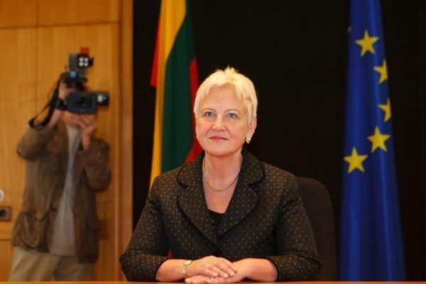 Seimo pirmininkė su vienos dienos vizitu lankysis Lenkijoje