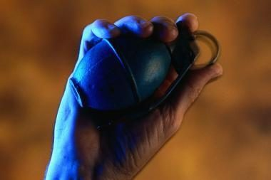 Nenustatytas vilnietis į policiją atnešė granatos muliažą