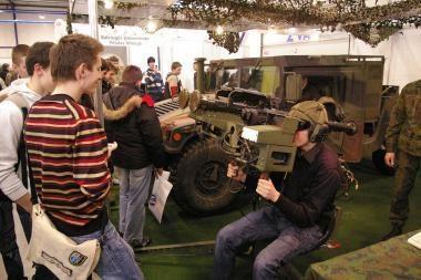 Parodoje - galimybė pamatyti šiuolaikines karines technologijas