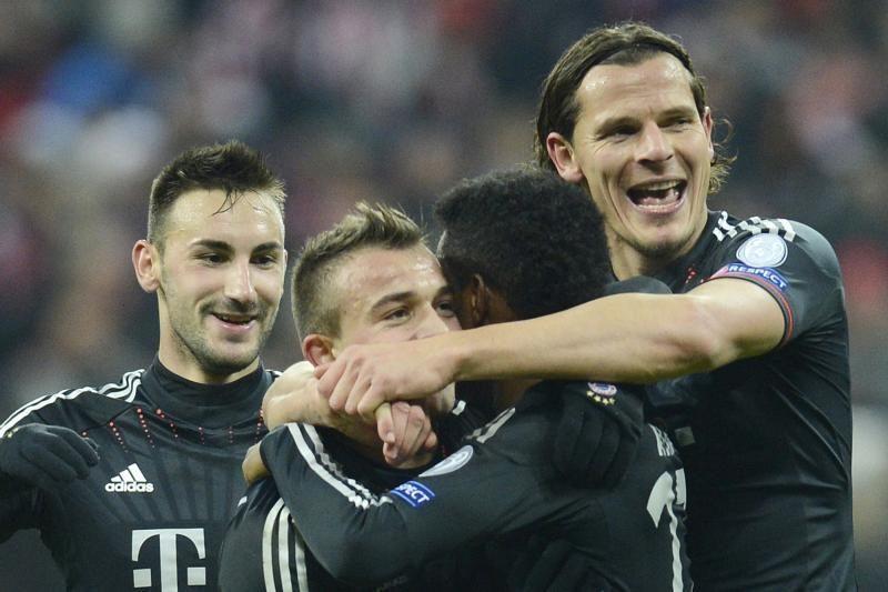 """D. Contento apie Čempionų lygą: mes eliminuosime """"Juventus"""""""