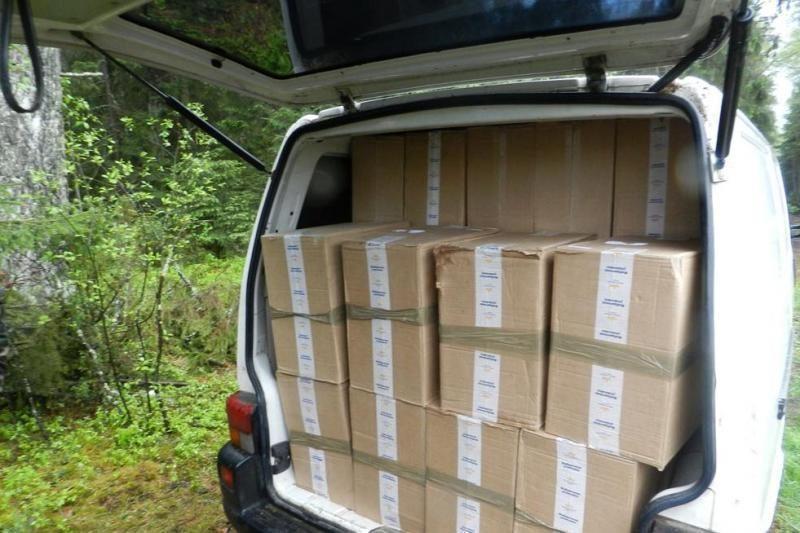 Sulaikytas per 1 mln. litų vertės kontrabandinių cigarečių krovinys
