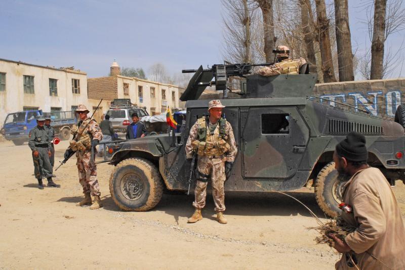 Po karių visureigiu Afganistane įvyko sprogimas, lietuviai nenukentėjo