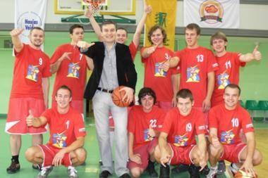 """KU – krepšinio komandos fanų klubas """"Baltijos žaibas"""""""