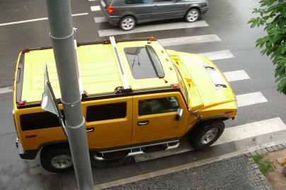 """""""Hummer"""" vairuotojams taisyklės negalioja"""