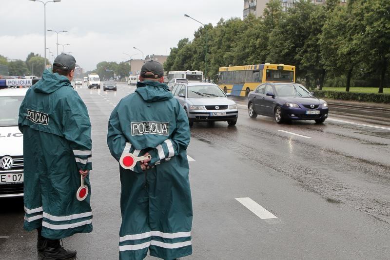 Daugiausiai neblaivių vairuotojų įkliuvo Kauno apskrityje