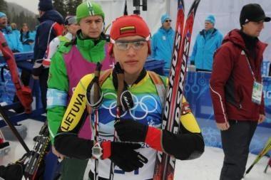 Olimpinis bagažas iš Vankuverio