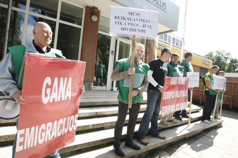 Teismas leido streikuoti