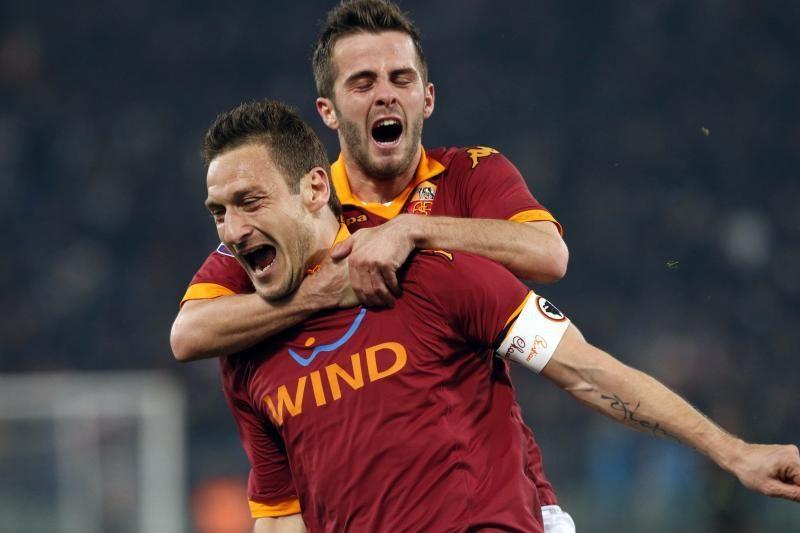 F. Totti atskleidė, kodėl nori žaisti dar bent 2-3 metus
