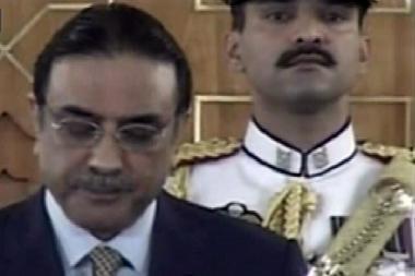 Prisaikdintas naujas Pakistano prezidentas
