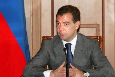 """D.Medvedevas: Rusija yra pasirengusi """"viskam"""