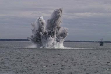 Išminavimo operacijoje prie Lietuvos krantų jau rasti 3 sprogmenys