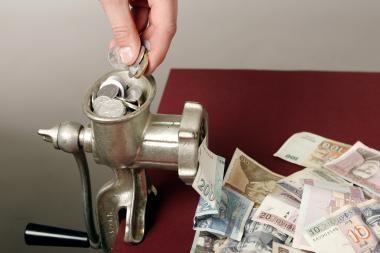 Auditoriai: PVM grobstytojų laimikis per metus - iki 1 mlrd. litų