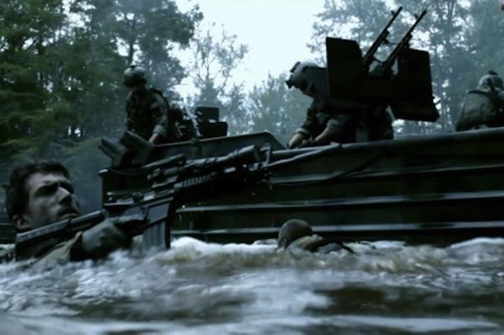 Filmas apie JAV karinį jūrų laivyną buvo kuriamas net ketverius metus