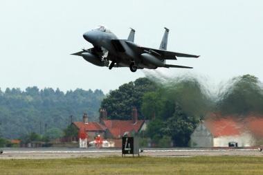 Oro policijos misiją Baltijos valstybėse perims JAV kariai