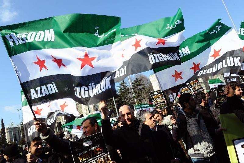 Sirijos prezidento al Assado pajėgos vykdo karo nusikaltimus
