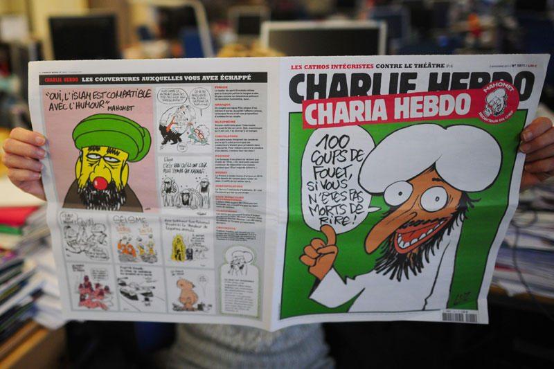 Išspausdino Muhammadą ir musulmonus pajuokiančias karikatūras