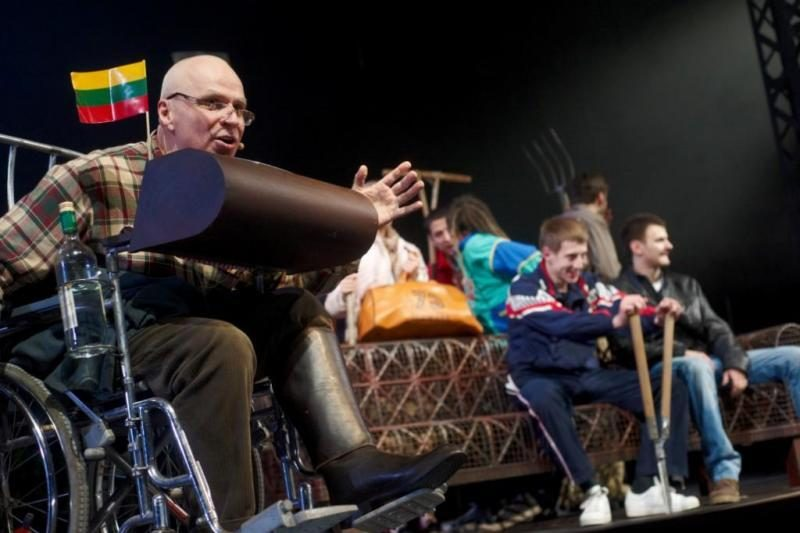 Aktorius Vytautas Anužis: tauta balansuoja ant išnykimo ribos