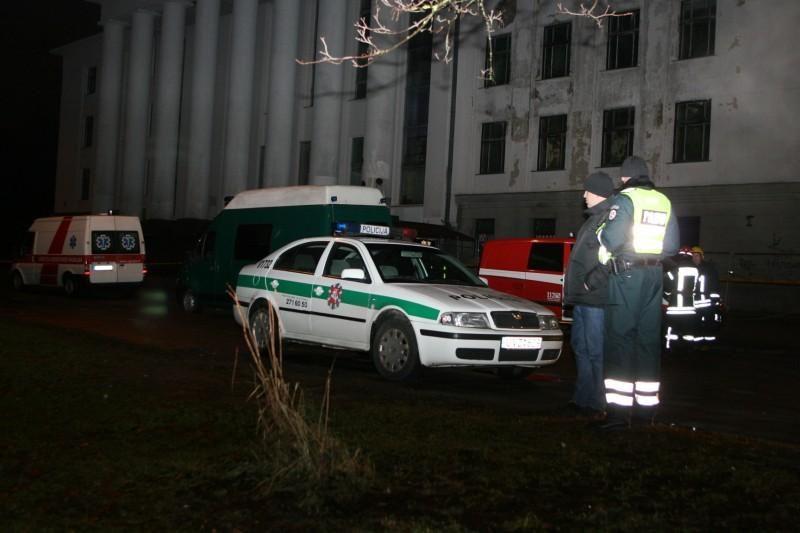 Vilniuje susiprogdinęs kaunietis iš kolegijos išmestas nebuvo