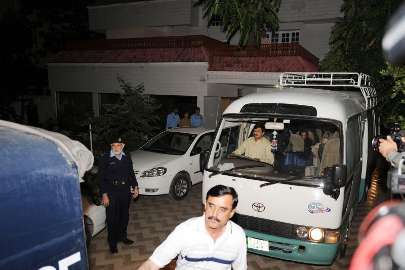 Osamos bin Ladeno šeima deportuota iš Pakistano