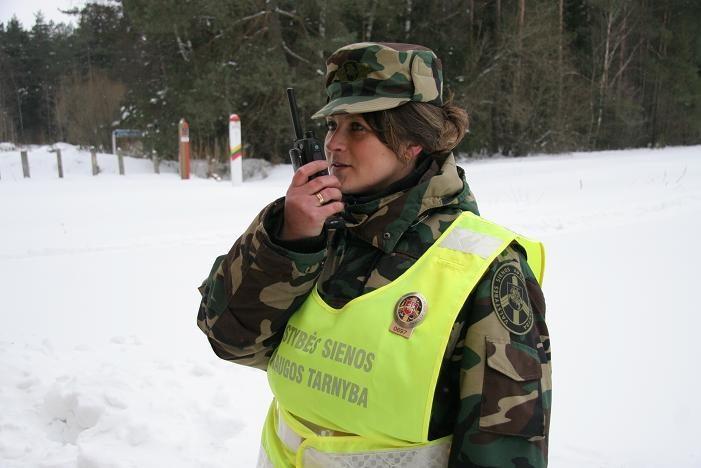 Nelegalai iš Gruzijos Lietuvos sieną perėjo upeliu